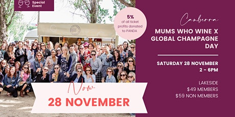 Mums Who Wine Global Champagne Day - Canberra tickets