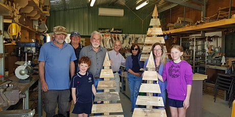 Family 'Build Your Own' Recycled Timber Christmas Tree tickets