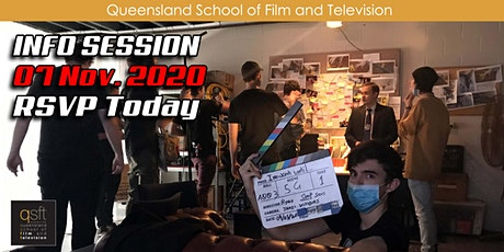 QSFT MEDIA & FILM SCHOOL CAREER INFO SESSION - Saturday, 7th November 2020 tickets