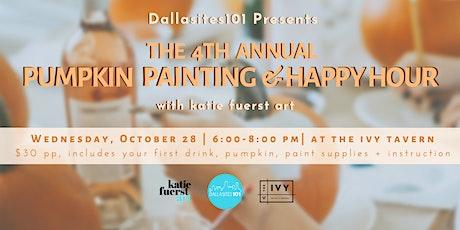 4th Annual Pumpkin Painting tickets