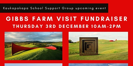 Gibbs Farm Visit Fundraiser tickets