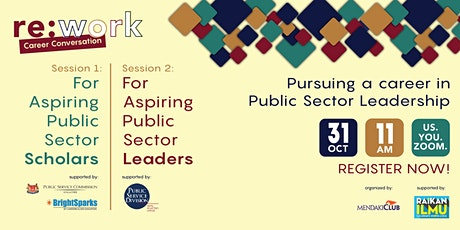Career Conversation Finale: Pursuing a career in Public Sector Leadership tickets