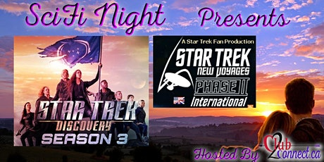 Singles Sci Fi Social - Join us for Star Trek Discovery S3 & ST New Voyages tickets