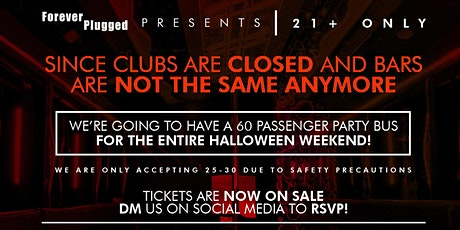 San Diego Halloween Party Bus (Costume event) tickets