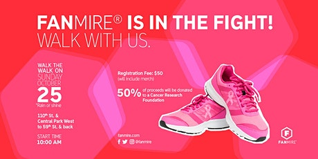 Fanmire's Walk for Breast Cancer tickets