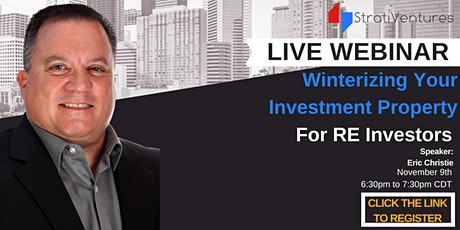 Winterizing Your Investment Property tickets