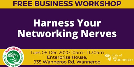Business Workshop - Harness Your Networking Nerves tickets