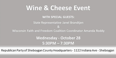 Sheboygan Wine and Cheese Event tickets