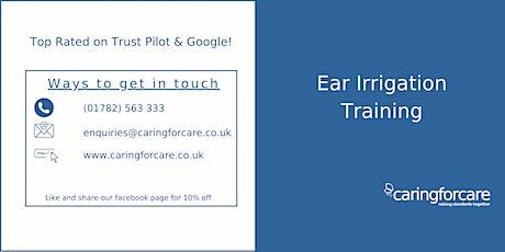 Ear Irrigation Training tickets