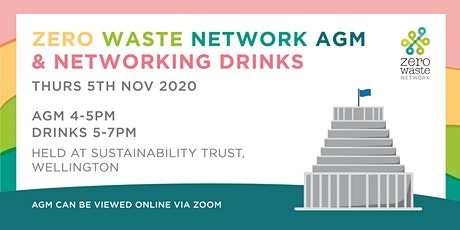 Zero Waste Network AGM & Networking Drinks tickets