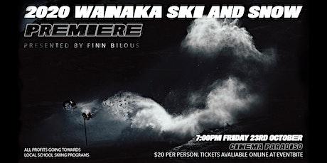 2020 Wanaka Snow Premiere - Presented by Finn Bilous tickets
