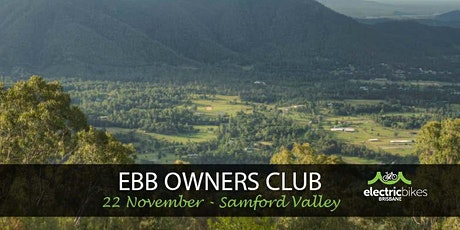 EBB Owners Club ride - Samford Valley Explorer tickets