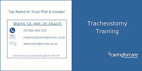 Tracheostomy Training tickets