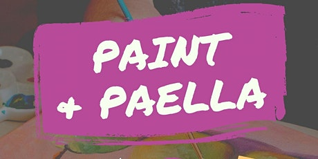 Paint & Paella With Comida tickets