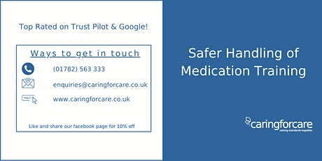 Safer Handling of Medication tickets