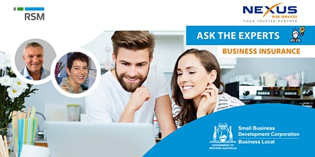 Ask the Experts: Business Insurance (Geraldton) tickets