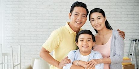 「網上好相見」父母講座: 孩子的健康成長 - 植根於父母的和諧關係 tickets