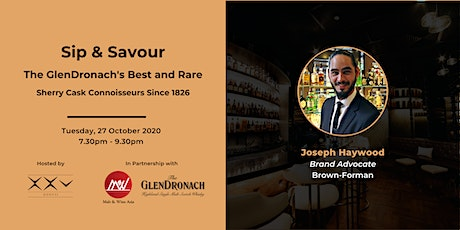 Sip & Savour on GlenDronach's Best and Rare tickets