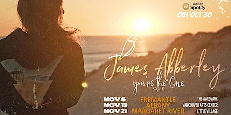 James Abberley | The Aardvark tickets