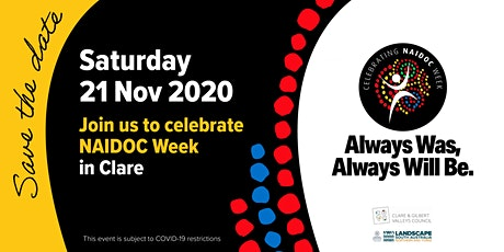 Clare's 2020 NAIDOC Event tickets