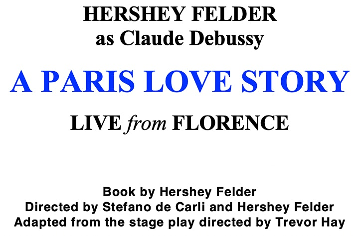HERSHEY FELDER as Claude Debussy in A PARIS LOVE STORY image