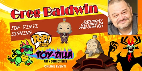 POP SWAP SIGNING #9 TOY-ZILLA with GREG BALDWIN tickets