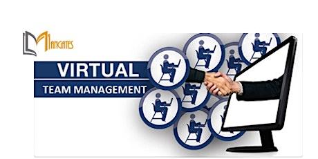Managing a Virtual Team 1 Day Virtual Live Training in Kelowna tickets