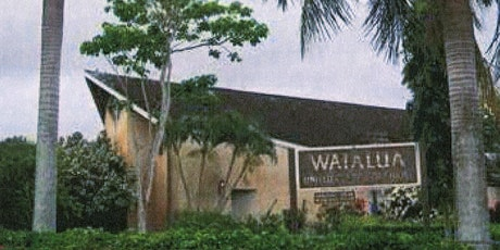 Waialua UCC In-person Worship Service - October 25th tickets