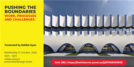 Lecture 6 Swin Design Lecture Series by Debbie Ryan | 21 Oct 4pm-5pm tickets