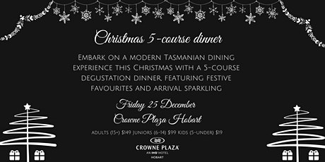 5-course Degustation Christmas Dinner tickets