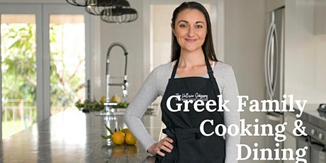 Big Fab Greek Cooking and Lunch with Kelly at Hellenic Odyssey (Moorabbin) tickets