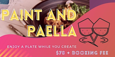 Paint And Paella With Comida tickets