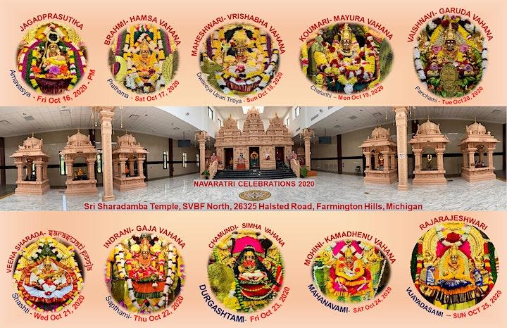 Sri Sharadamba  Temple - Navaratri 2020 Darshan image