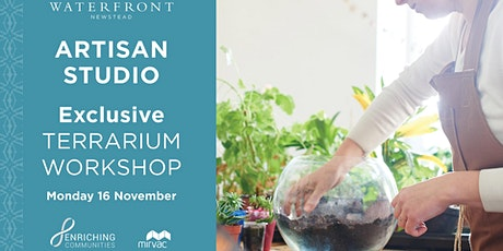 Artisan Studio - Terrarium Plant Workshop tickets