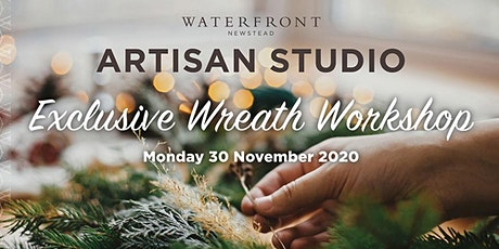 Artisan Studio - Christmas Wreath Workshop tickets