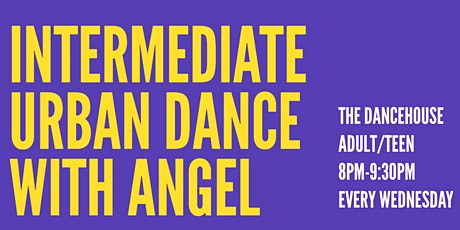 Intermediate Hip Hop with Angel tickets