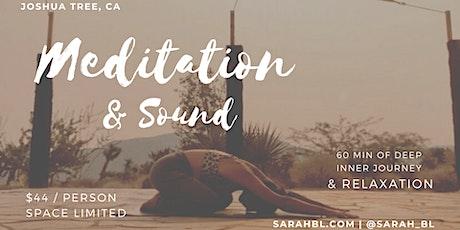 Meditation & Sound Journey in Joshua Tree tickets