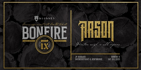 Bonfire V: Arson tickets