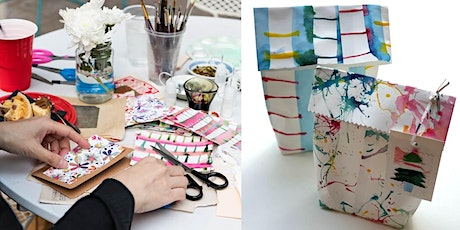 Open Adult creative workshop: festive card and giftwrap making tickets