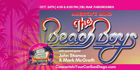 THE BEACH BOYS w/Special Guest JOHN STAMOS & MARK McGRATH - 4 PM DEL MAR tickets