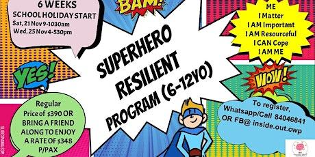 Resilient SuperHero  6 week program (Wed start)