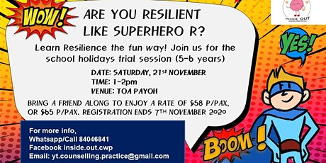 Resilient Superhero (Trial for 5-6 year olds)