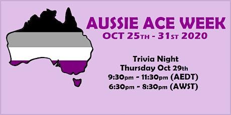 Aussie Ace Week General Trivia Night tickets