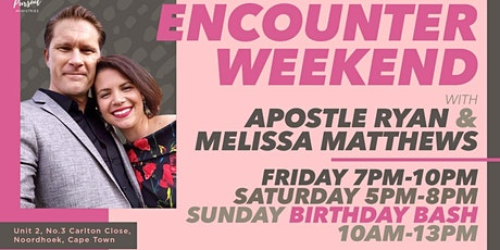 Encounter Weekend Saturday tickets
