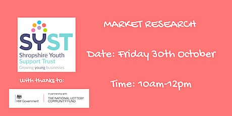 Market Research tickets