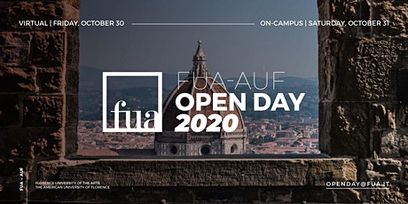 FUA-AUF VIRTUAL OPEN DAY biglietti