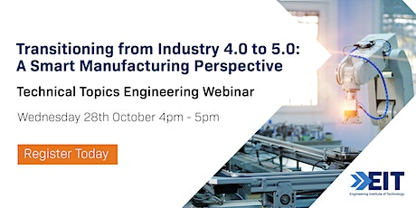 EIT Technical Engineering Webinar - October 2020 tickets