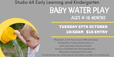 Baby Water Play tickets
