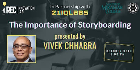 Importance of Storyboarding with 21iQLabs, hosted by Vivek Chhabra tickets