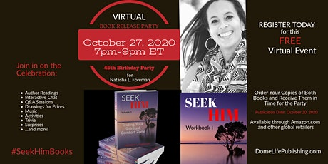 Virtual Book Release & Birthday Party for Natasha L. Foreman tickets